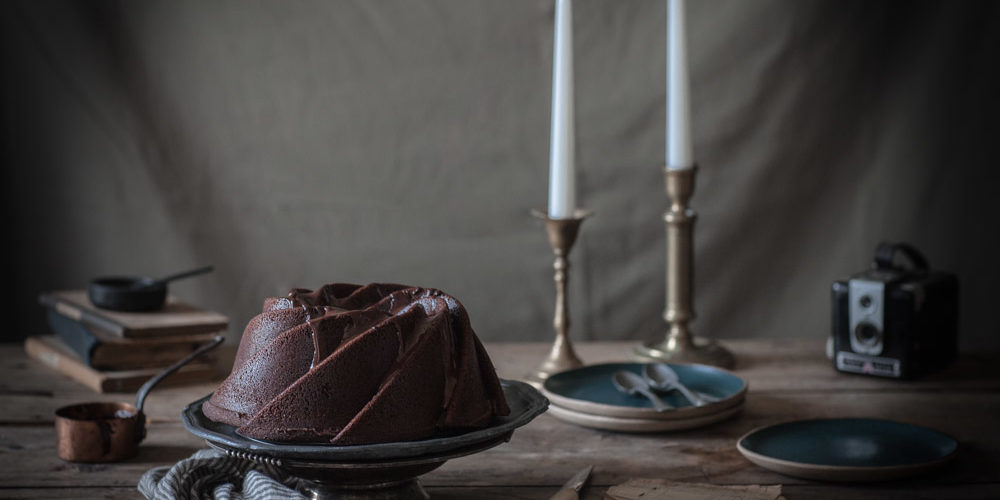 Gâteau au chocolat version bundt cake